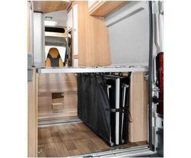 Zoombox 2, Die Staubox unter dem Bett, Höhe: 65cm, Breite: 25cm