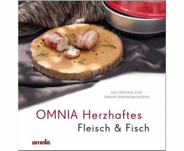 """Omnia Kochbuch """"Herzhaftes Fleisch & Fisch"""""""