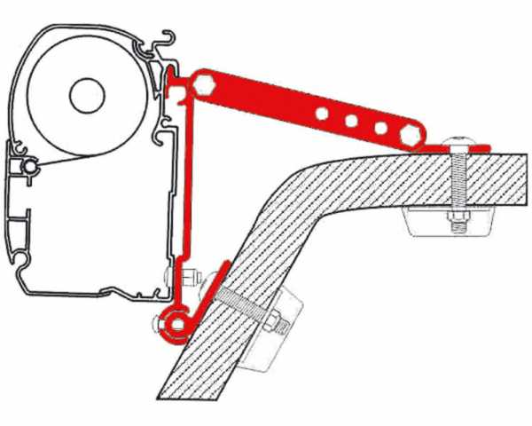 Adapter Kit Wall F1/F45/F50/F55